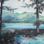 """Derwent from the bottom of Catbells"" by tessa-gallery"
