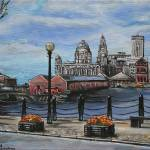 """An afternoon in Liverpool"" by tessa-gallery"