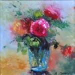 """Pink Rose"" by BCArt"