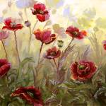 """""""Poppies in the Mist"""" by BCArt"""
