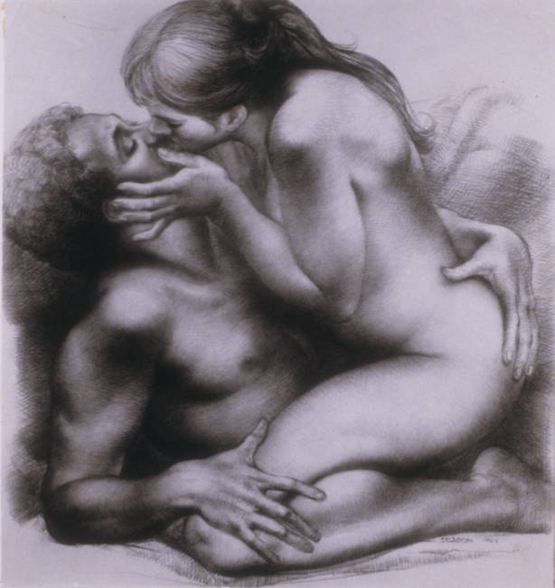 erotic art nude couples for sale