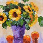 """Sunflower Still Life"" by BCArt"