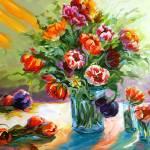 """""""Too Many Tulips"""" by BCArt"""