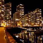 """Yaletown by Night"" by raetucker"