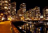 Yaletown by Night