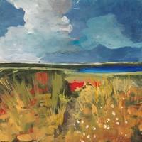 Spring Wildflowers Painting/Acrylic Contemporary