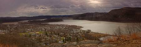 Cold Spring and the Hudson River