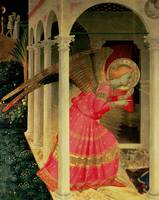 Detail from The Annunciation showing the Angel Gab