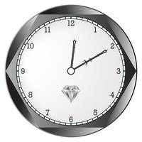 diamond clock
