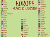 europe flags collection