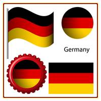 germany graphic set