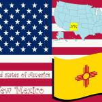 """new mexico state illustration"" by robertosch"