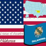 """oklahoma state illustration"" by robertosch"