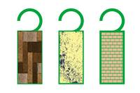 tags with texture (wood)