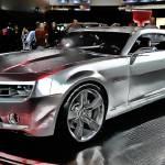 """Rebirth - Chevrolet Camaro Concept Digital Art"" by pi"