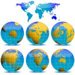 """world globes collection"" by robertosch"