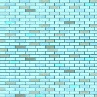 blue seamless bricks wall