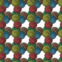 circles and colors pattern