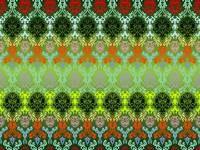 colored seamless flowers pattern