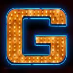 """""""Neon letter G"""" by markdiederichsen"""