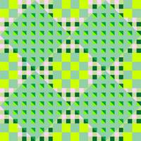 geometric green seamless pattern