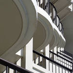 """Patterned Balconies"" by robertmeyerslussier"