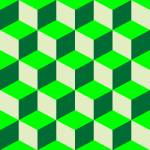 """psychedelic pattern mixed green"" by robertosch"