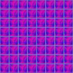 """purple pyramids texture"" by robertosch"