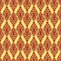 red damask texture