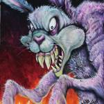 """Drugs Bunny by: Mike Vanderhoof KINGMIKEV.com"" by MikeVanderhoof"