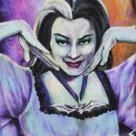 """Lillian Munster by: Mike Vanderhoof KINGMIKEV.com"" by MikeVanderhoof"