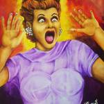 """Scared Lucy by: Mike Vanderhoof KINGMIKEV.com"" by MikeVanderhoof"