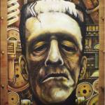 """Steampunk Frankenstein by: Mike Vanderhoof"" by MikeVanderhoof"