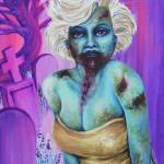 """Zombie Marilyn by: Mike Vanderhoof"" by MikeVanderhoof"