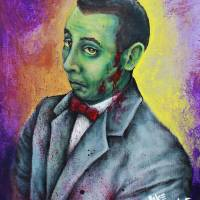 Zombie Pee Wee by: Mike Vanderhoof Art Prints & Posters by Mike Vanderhoof