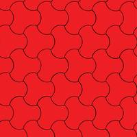 stone red pattern