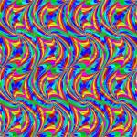 """wavy seamless pattern"" by robertosch"