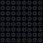 """white and blue seamless pattern on black backgroun"" by robertosch"