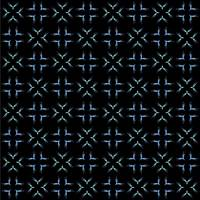 white and blue seamless pattern on black backgroun