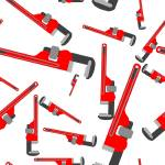 """wrench pipe seamless pattern"" by robertosch"