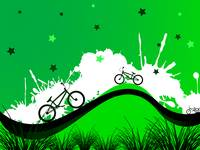 bicycles background