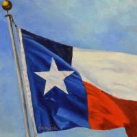 Lone Star Art Prints & Posters by Becky Hicks