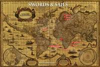 Official Map of Swords & Sails by David McAvoy II