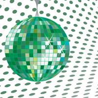 discoball green