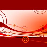 red waves and circles 2