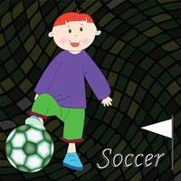 soccer player background