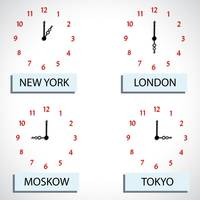 time zone hours