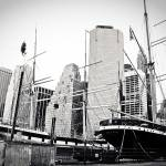 """South Street Seaport  New York City"" by jamiestarling"