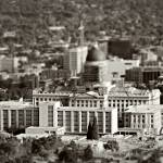 """Salt Lake City Five Tilt Shift"" by jamiestarling"