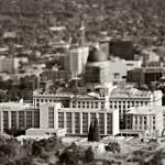 """Salt Lake City Five Tilt Shift"" by jamiestarling"